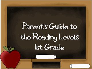 Reading Levels-First Grade RD
