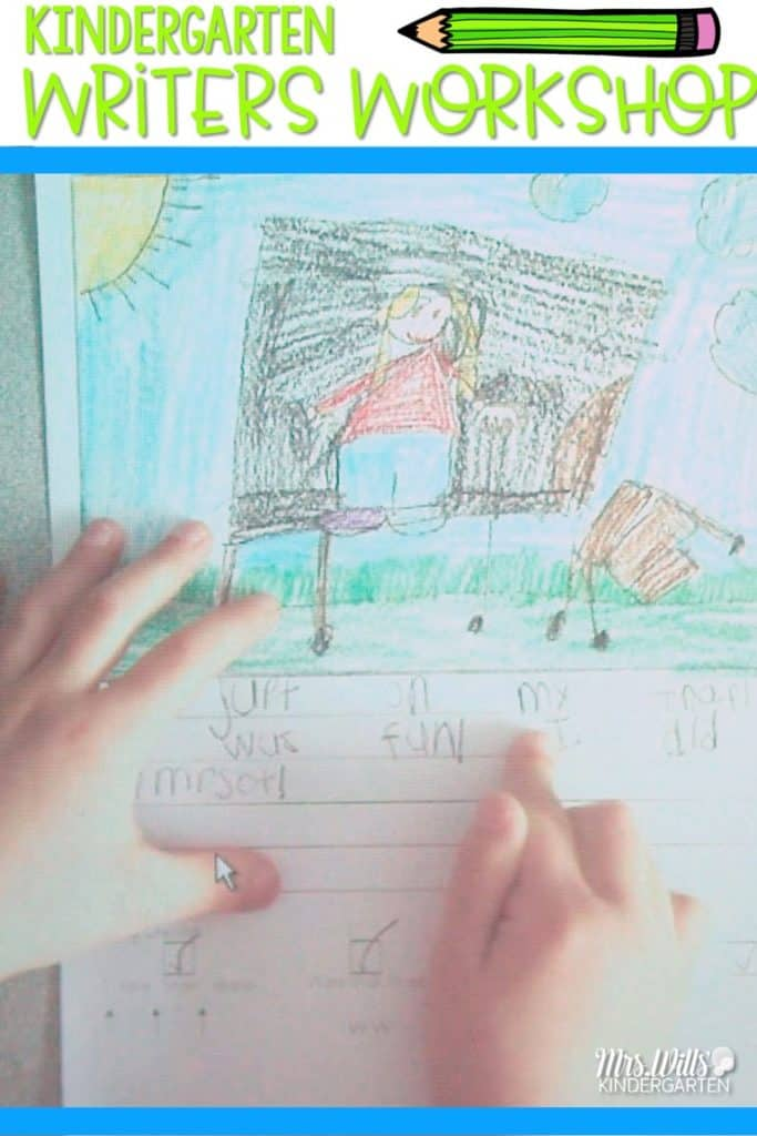 Kindergarten Writers Workshop. We worked on Storytelling as a way to extend a story. Take a peek at our writing!