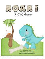 Dinosaur Fun CVC Game