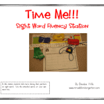 Time Me!!! Sight Word Fluency