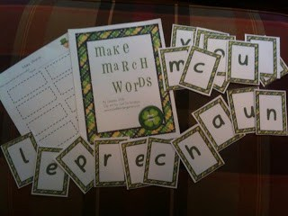 St Patrick's Day Making Words