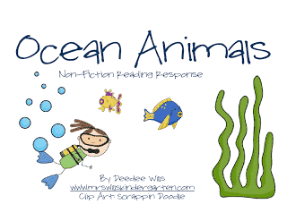 Oceans of Fun!  FREE Graphic Organizers