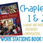 Math Work Stations Blog Party Chapter 1 and 2