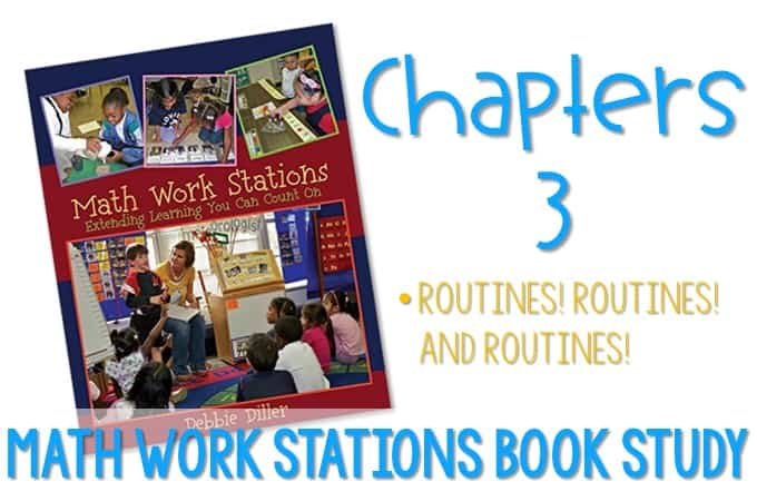 Math Work Stations Blog Party Chapter 3