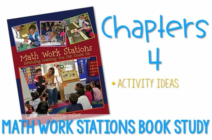 Math Work Stations Blog Party Chapter 4