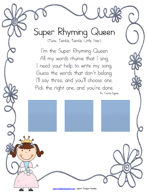 Phonological Awareness-Rhyme Recognition