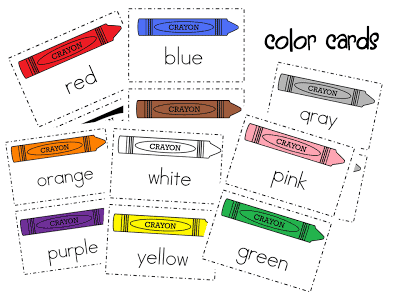 Color Words-FREEBIE