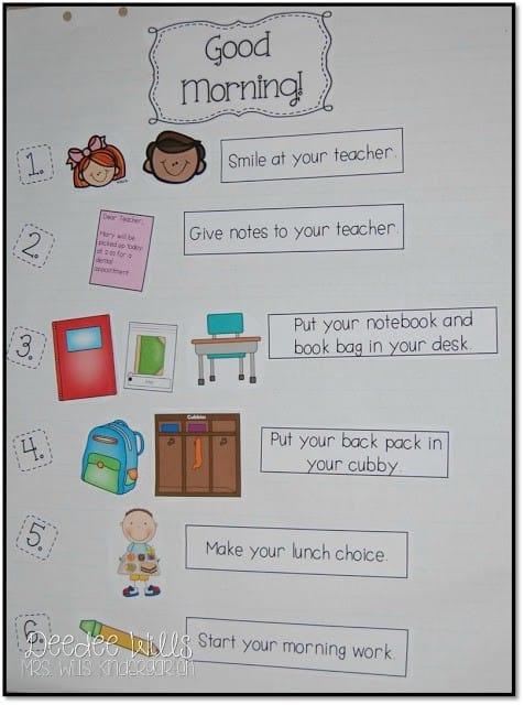 NEVER enough time? Classroom Time Saving Tips for Kindergarten 1