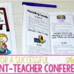 Parent Teacher Conferences Tips for Success!