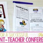 Parent Teacher Conferences Tips for Success!