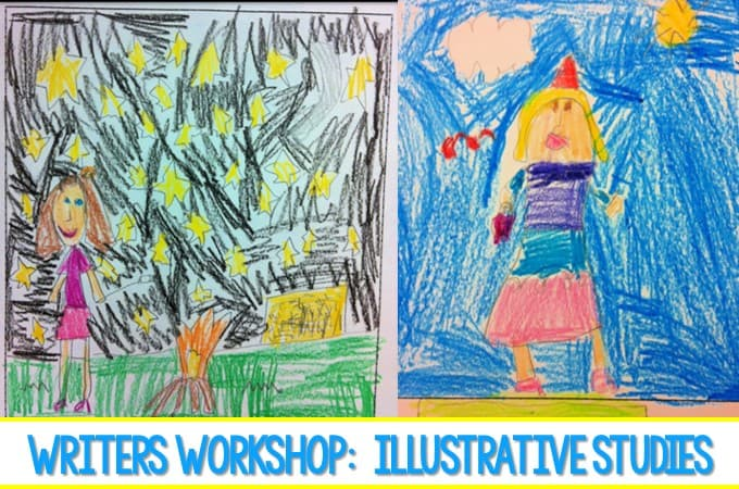 Writer's Workshop Illustration Study Using mentor texts to learn the qualities of writing in our kindergarten class. See student writing samples.