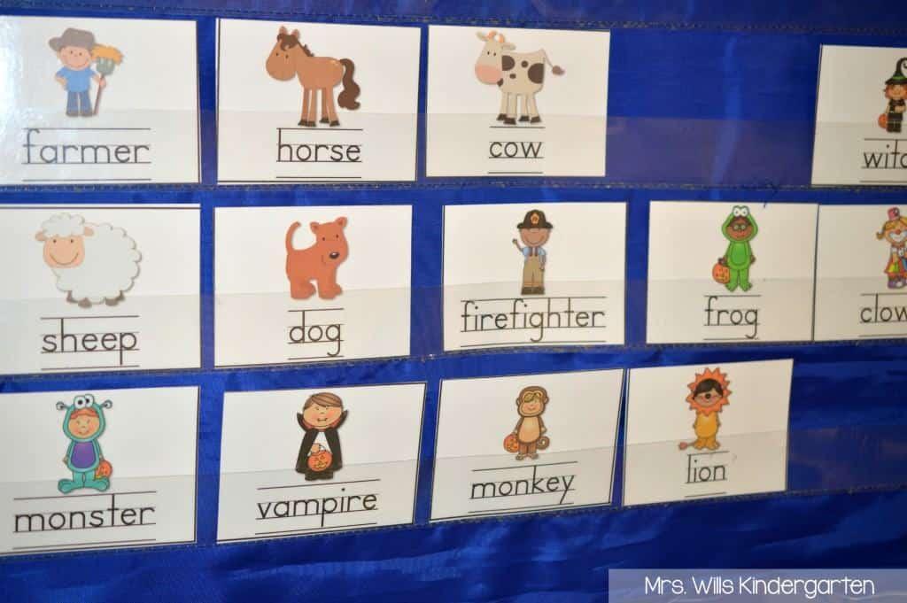 Predictable sentences for your kindergarten classroom