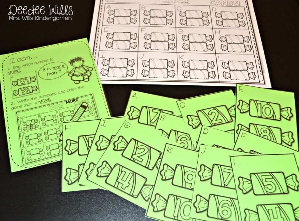 Pumpkin Emergent Reader free file is HERE! Find a few fun math and literacy center activities for your kindergarten classroom. Pumpkin Glyph and Writing stations too!