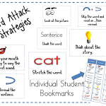 Word Attack Strategy Posters FREEBIE
