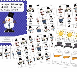A Little Makeover and Snowman FREEBIE!
