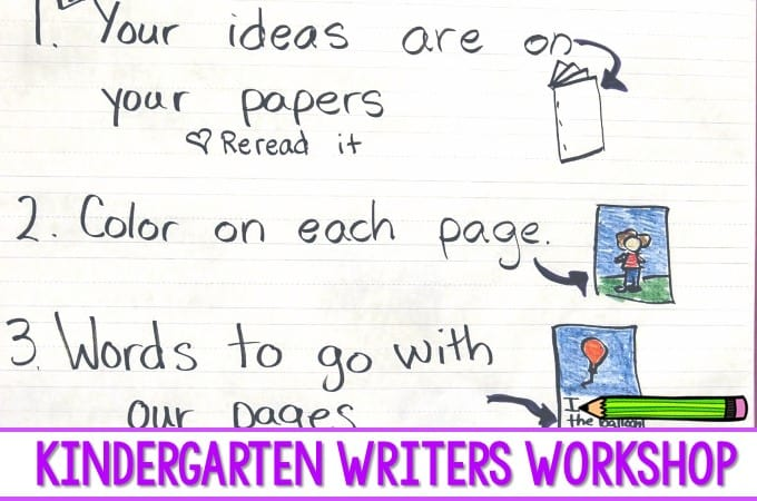 Writing Assessment in Kindergarten. Student writing samples used to assess students writing progress across the writing continuum. This blog post compares October kindergarten writing samples with December kindergarten writing samples. These samples were collected during our kindergarten writers workshop time.