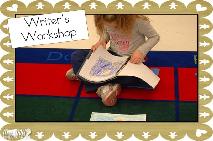 Writers' Workshop December Kindergarten Writing