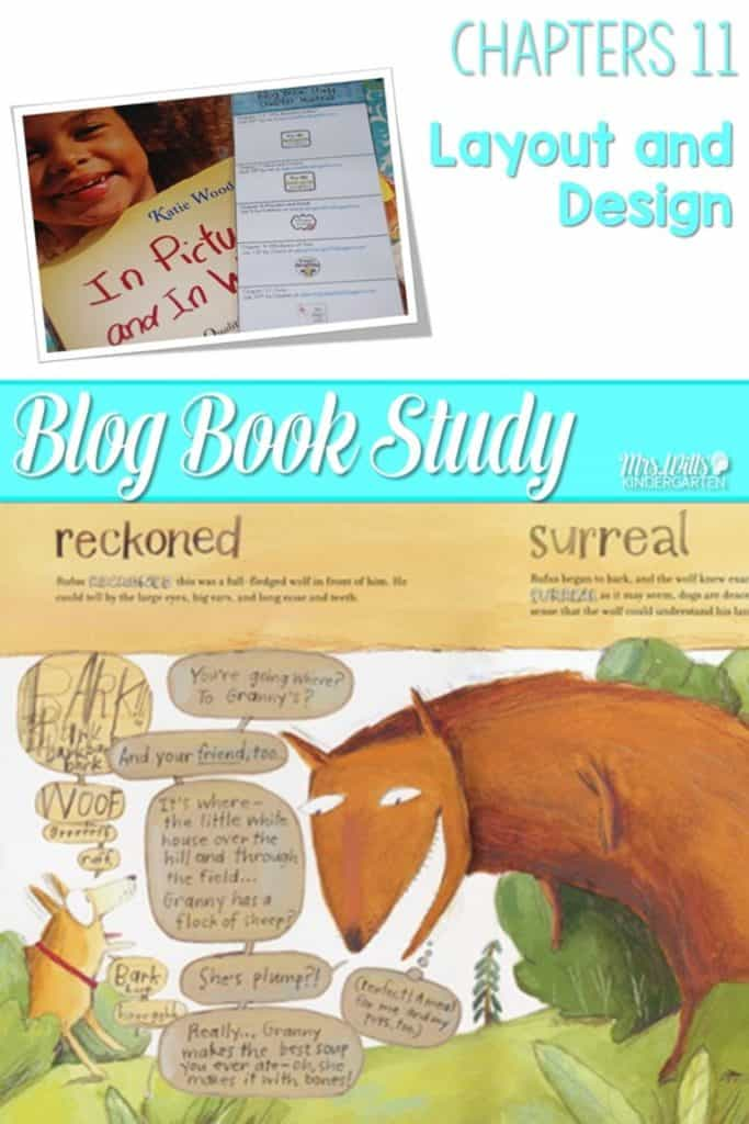 Writers workshop illustrative studies layout! In Pictures and in Words Chapters 11 is layout and design using mentor texts resources to teach writing to kindergarten and first-grade students.