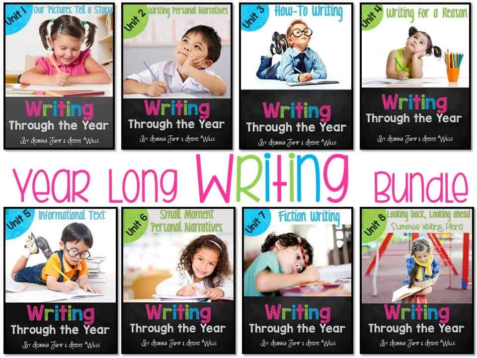 Writers workshop for kindergarten and first grade
