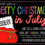 Christmas in July Sale!  Be Quick!