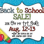 Back to School Already?  Sale