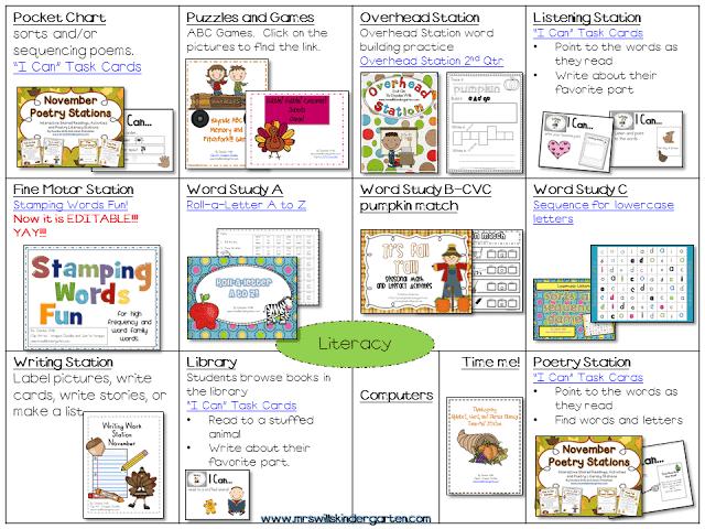 Peek at my Week-Thankful updates! - Mrs  Wills Kindergarten