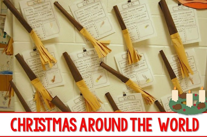 Christmas Traditions Around the World this post will show you how my kindergarten class investigated different