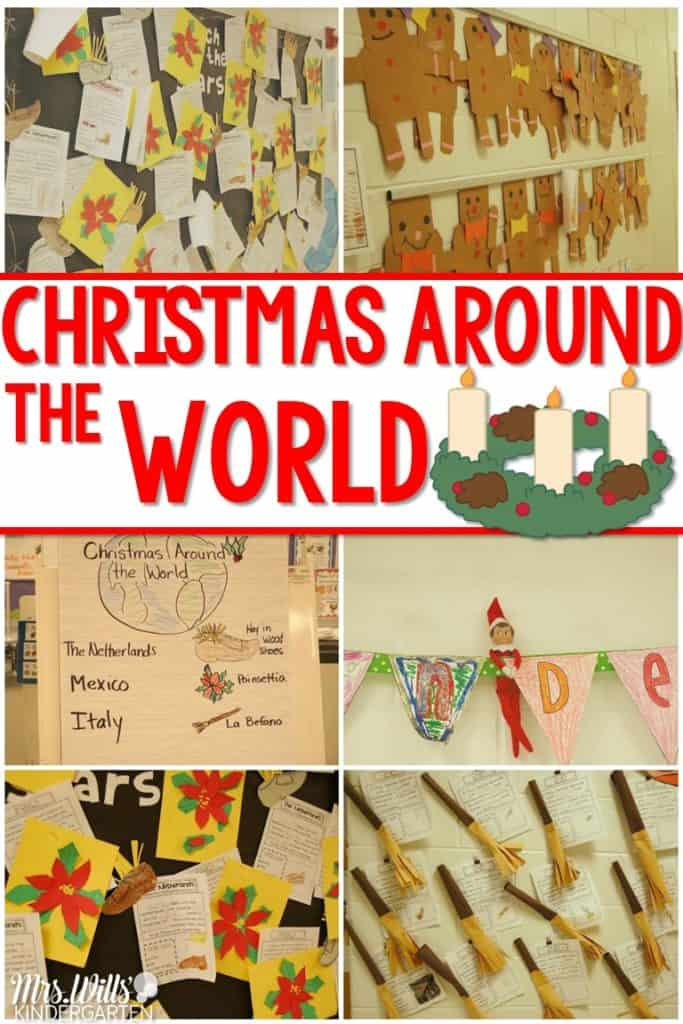 Christmas Traditions Around the World this post will show you how my kindergarten class investigated different Christmas customs from around the world. Kids loved the different crafts and traditions they learned.