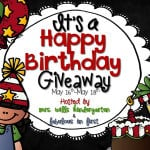 Happy Birthday to Us!  Giveaway!