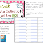 Assessing on the GO…1st grade edition