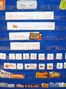 Name chant or poem - Mrs  Wills Kindergarten