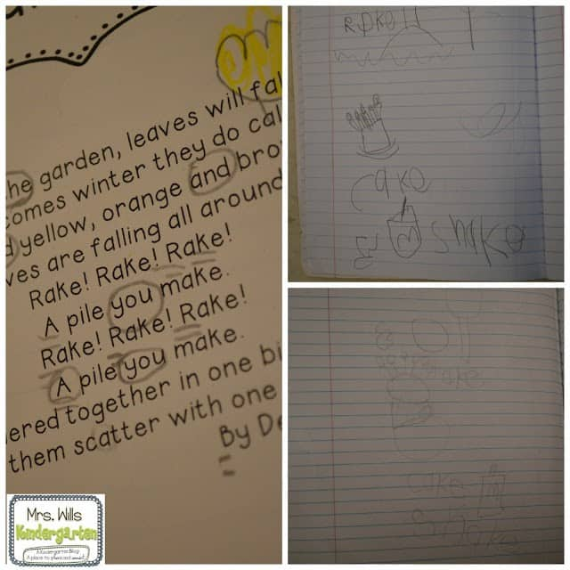 Meaning Of Shut The Front Door: Interactive Poetry Notebooks In Kindergarten? Check! And A