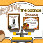 Keeping the Balance Giveaway