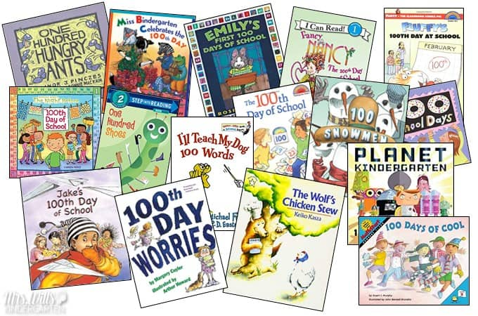 100 Days Smarter Activities Ideas for the 100th Day of School. Books, Videos, and Center Ideas for Kindergarten and First Grade Classrooms!