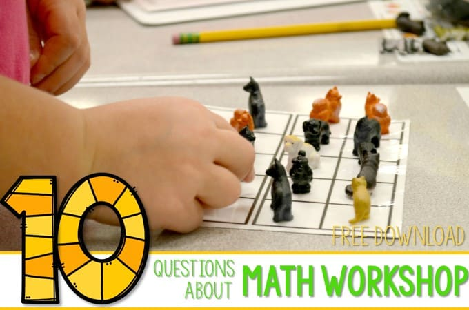 10 Questions Answered-Math Workshop
