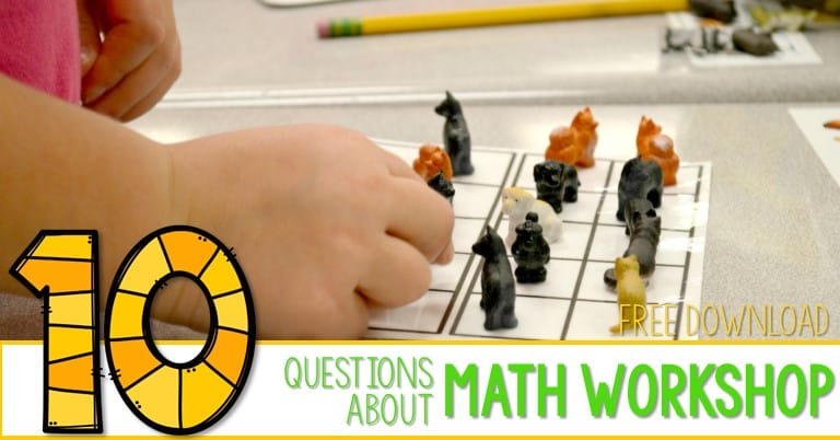 10Questions answered: math workshop edition!