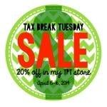 Tax Sale…