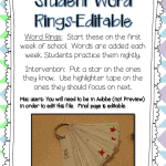 Sight Word Interventions-FREEBIE!