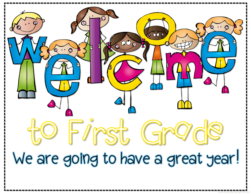 Image result for Welcome back to first grade