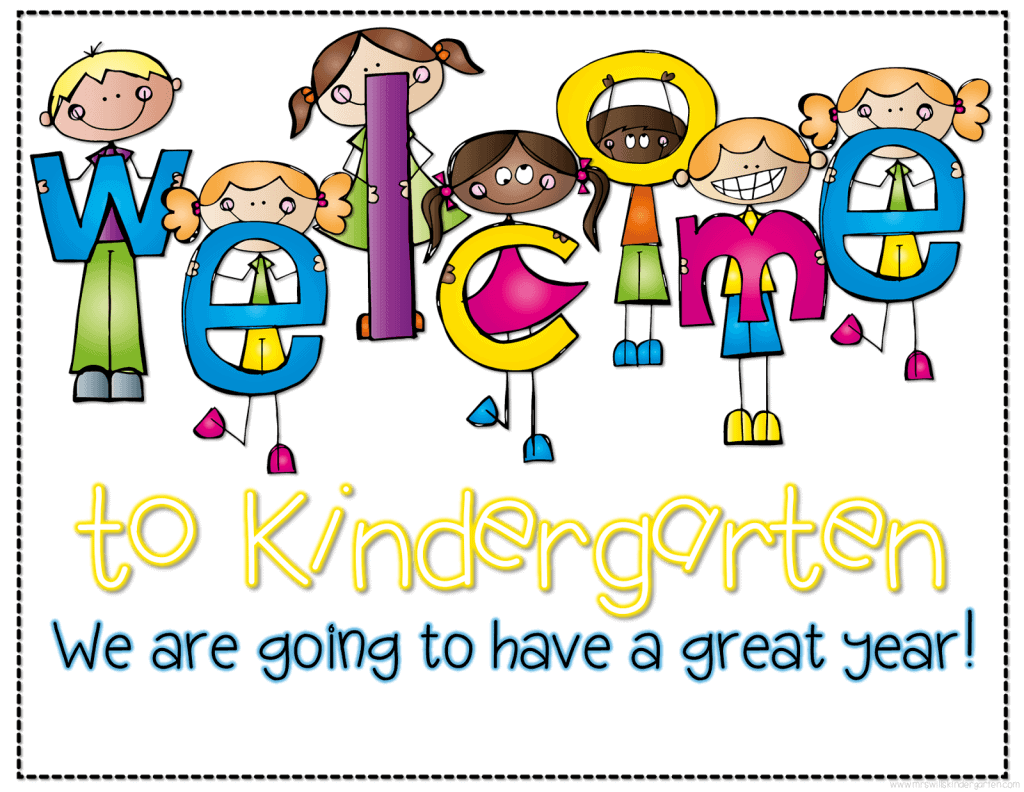 Image result for clip art welcome to kindergarten