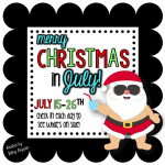 Christmas in July Sale is ON!