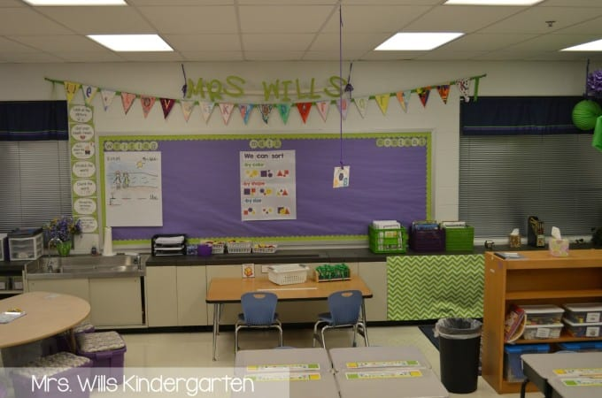 Peek at My Week  AND classroom tour RD