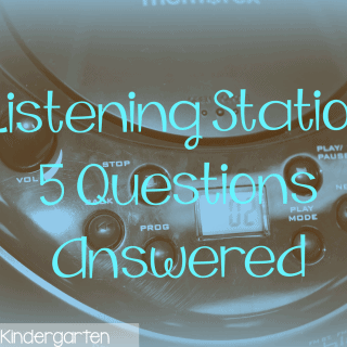 Listen UP!  Listening Stations-5 questions answered!