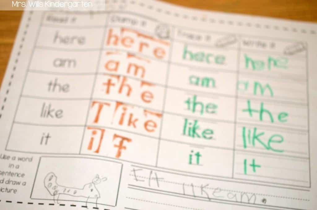Kindergarten sight word instruction! Looking for ways to help your students with their reading skills? Check out these kindergarten sight words activities! Assessments, centers, small group, and more