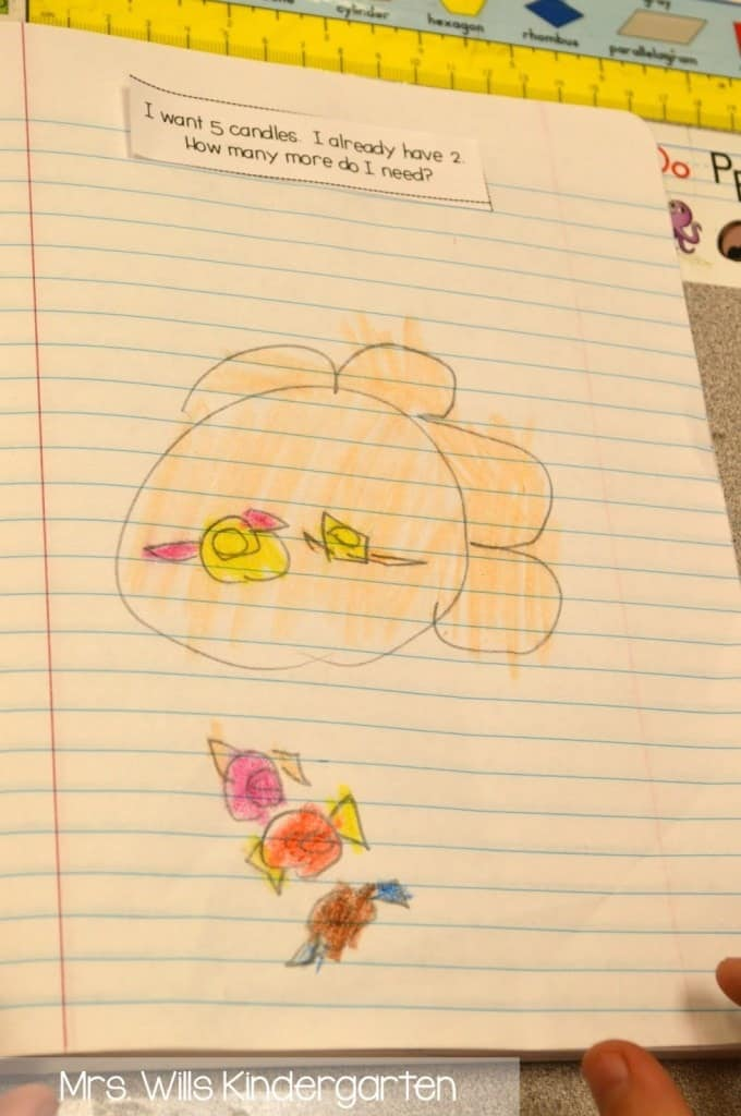 Thinking about using kindergarten math journals in your classroom? This post shows how you can do a math journal activity in minutes!