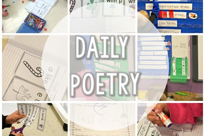 Peek at my week… Poetry, word walls, and Indiana