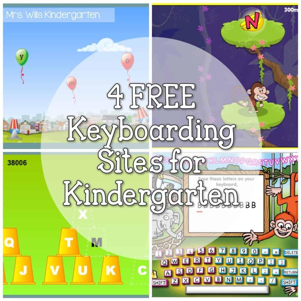 4 FREE Keyboarding sites for Kindergarten - Mrs  Wills