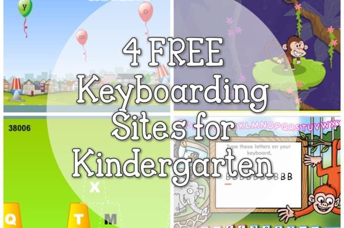 4 FREE Keyboarding sites for Kindergarten