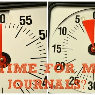 Math Journals in MINUTES… Yes, you can!