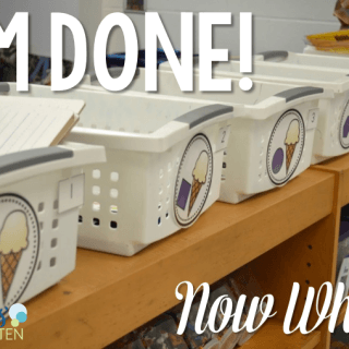I'm DONE!  Now what? (FREE download)
